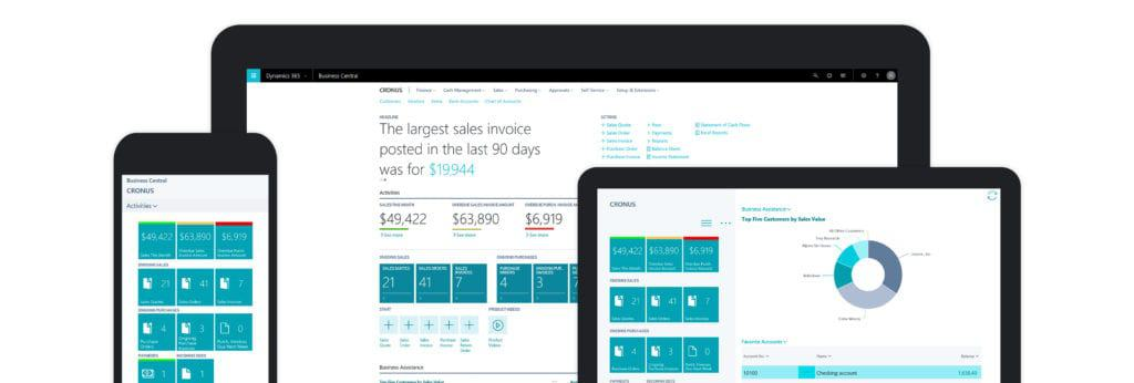 Dynamics 365 all in one system