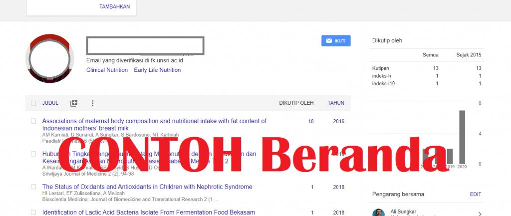 Google Scholar untuk kinerja penelitian dosen