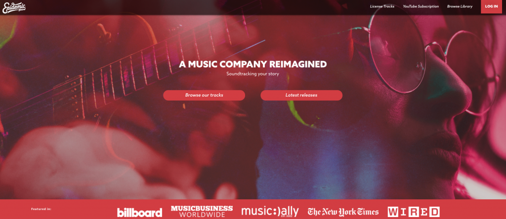 stock music website review