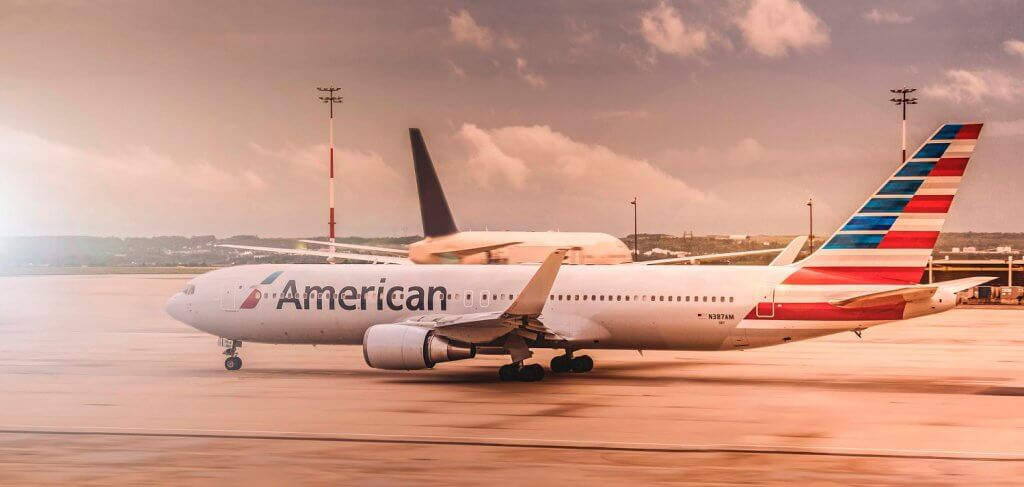 American Airlines Flugzeug