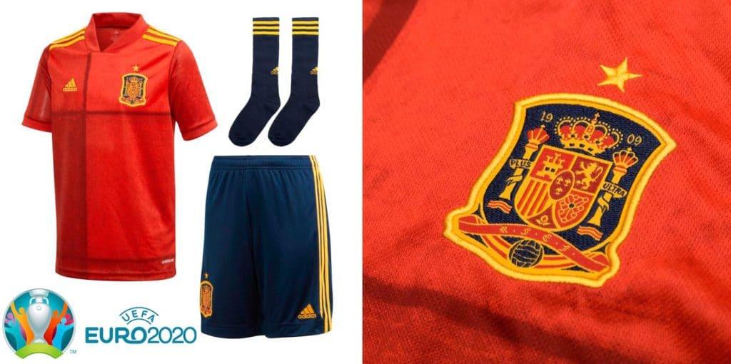 camiseta espana eurocopa 2020 replica comprar barata