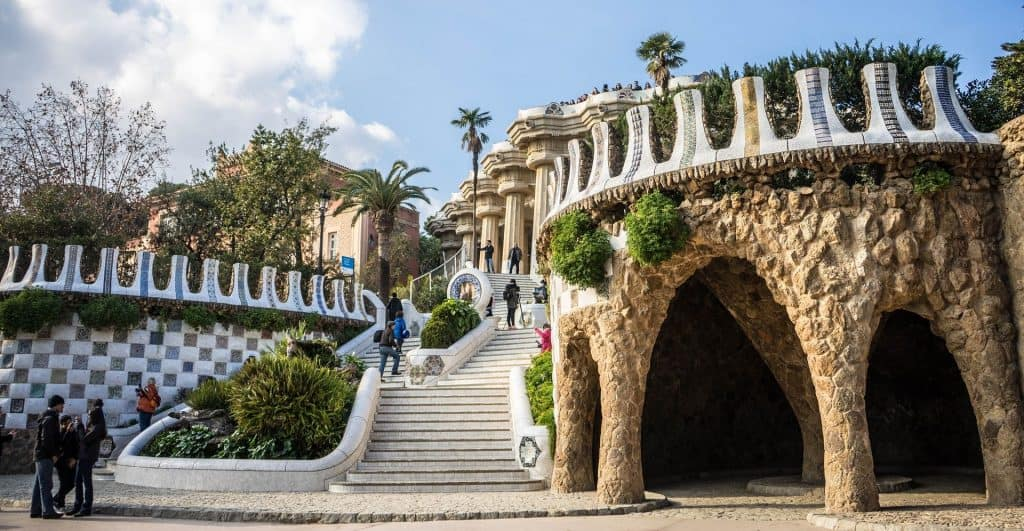 Guell Park - Barcelona - Travel Destinations Europe