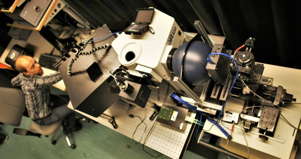 Monochromator Optical Laboratory
