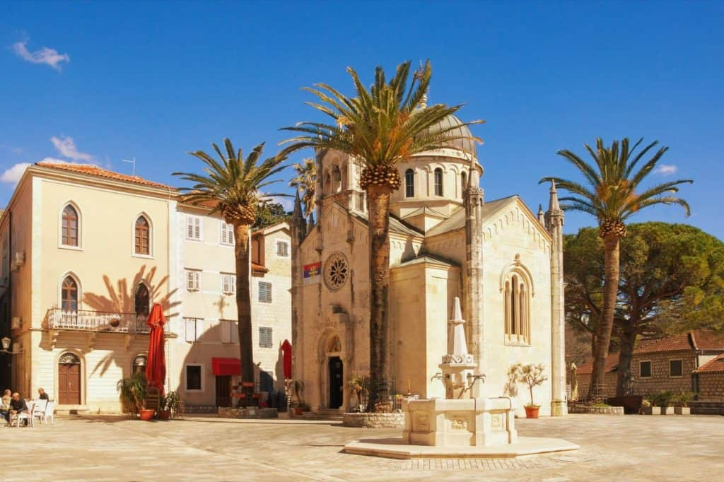 Church of Archangel Michael. Herceg Novi, Montenegro