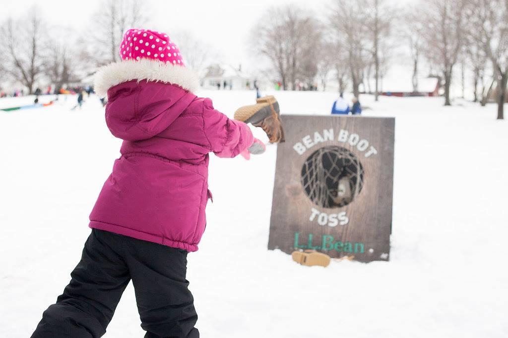 LL Bean Boot Toss WinterKids Sponsor Feature