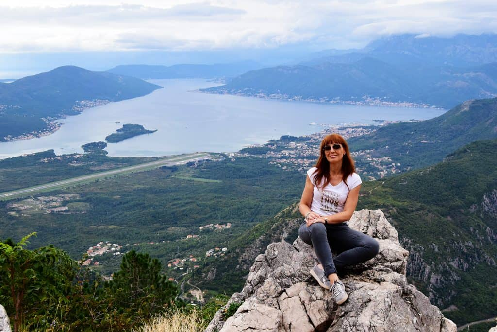 bay of Kotor view with me