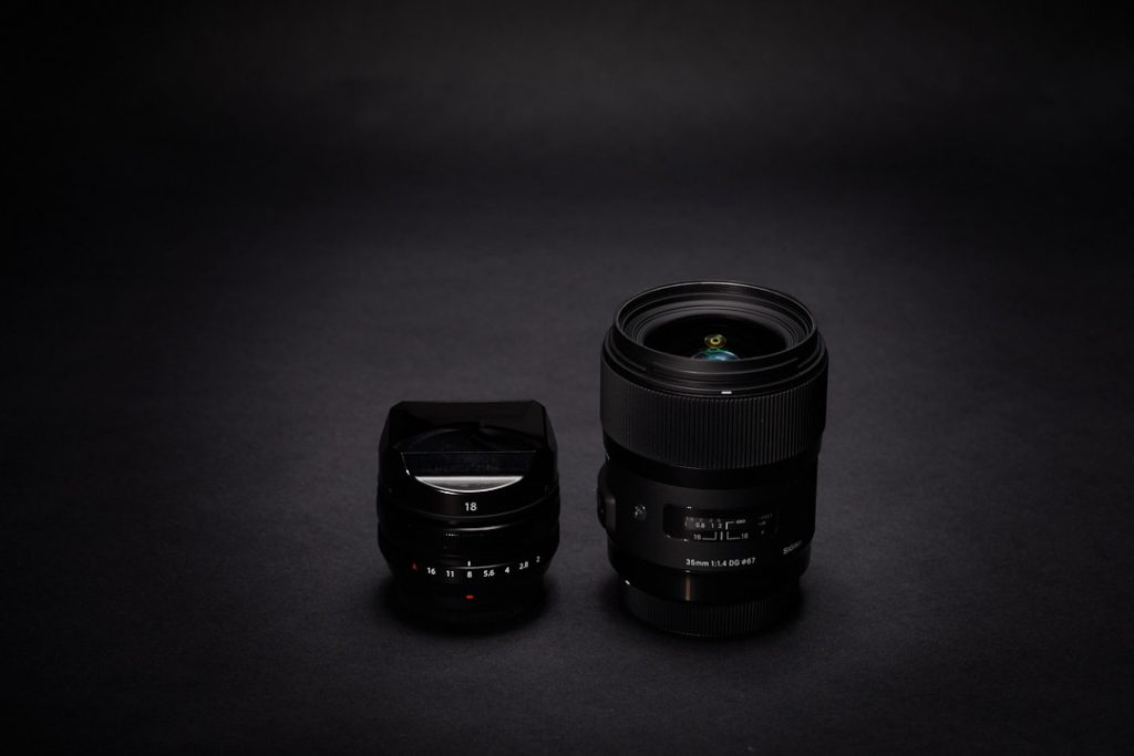 Fuji 18mm und Sigma 35mm Art © Armin Muratovic