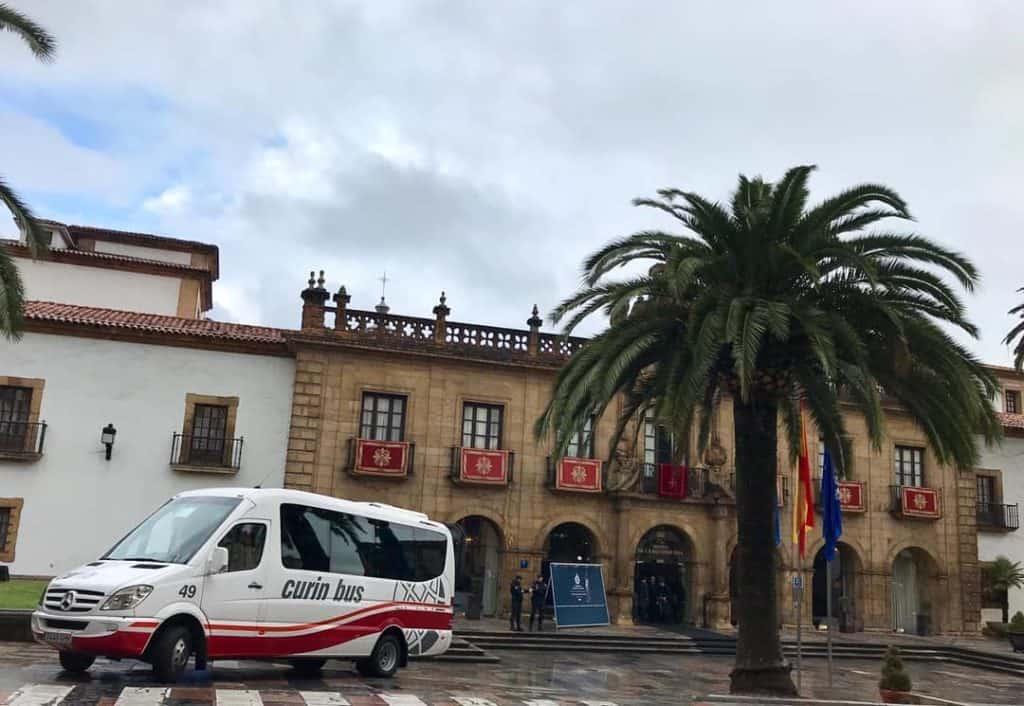 Curin Bus alquiler de autocares y microbuses en Oviedo Asturias Flota