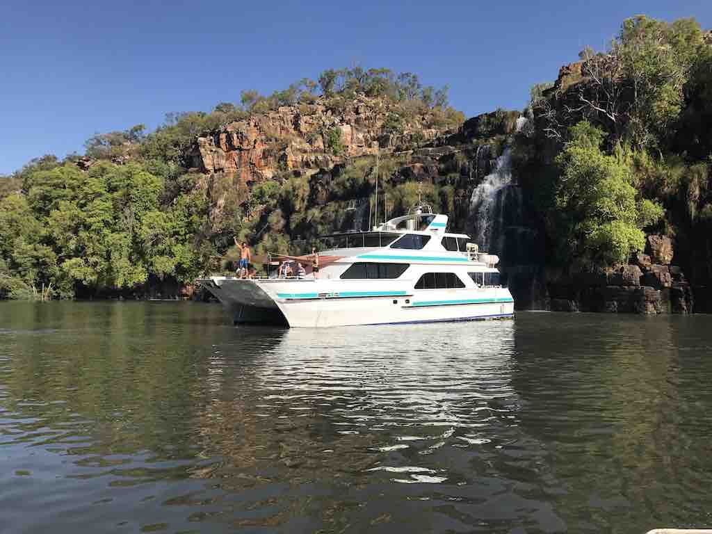 Diversity cruise at waterfall kimberley