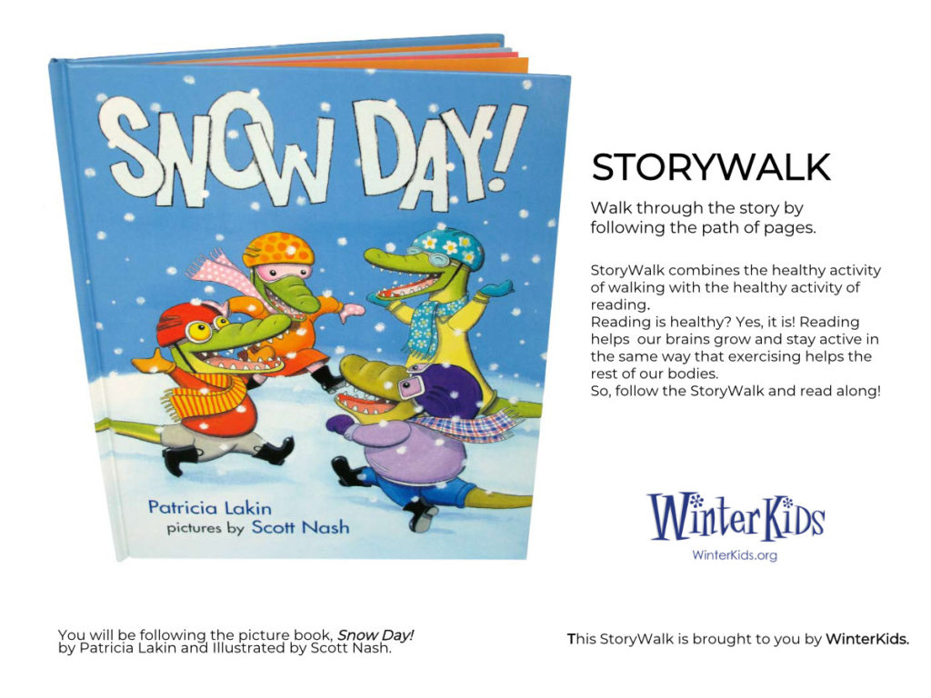WinterKids Story Walk Page 1