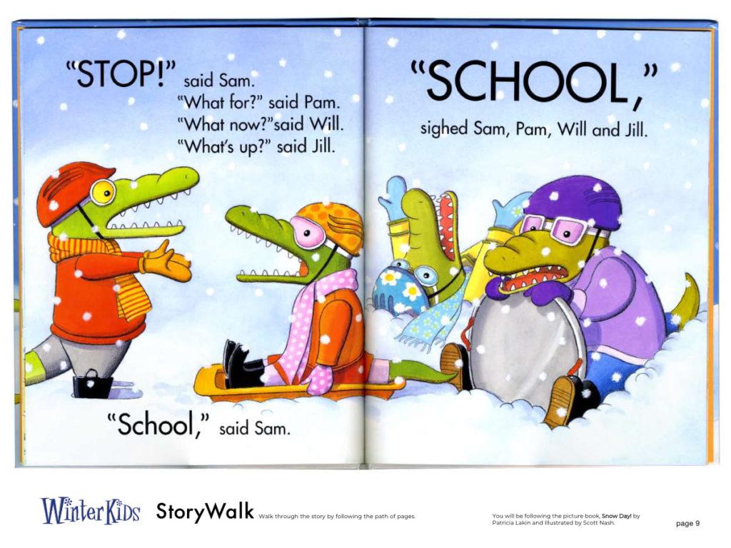 WinterKids Story Walk Page 10