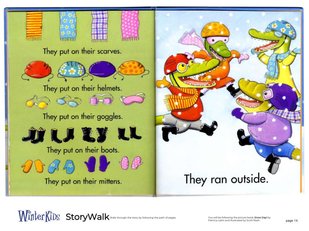 WinterKids Story Walk Page 15
