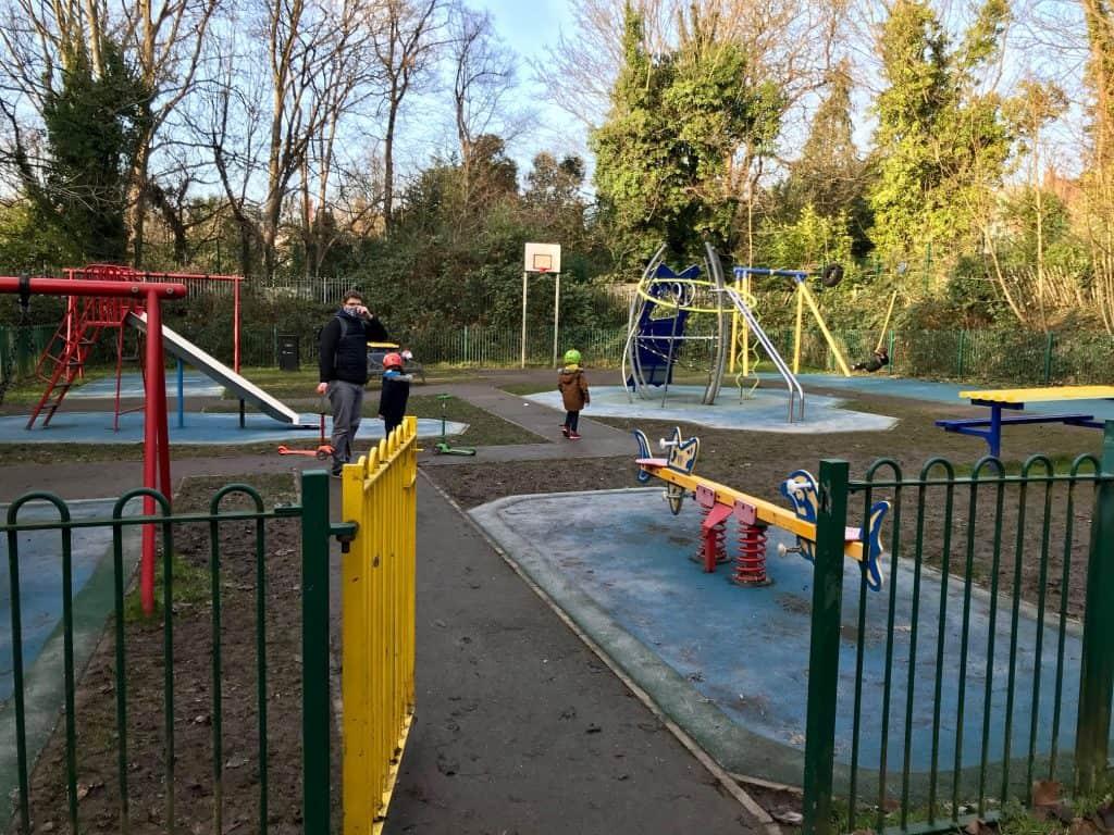 Playground at Spedan close