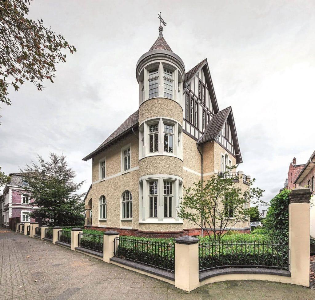 Headquarter in the Villa-Brandenburg in Kempen