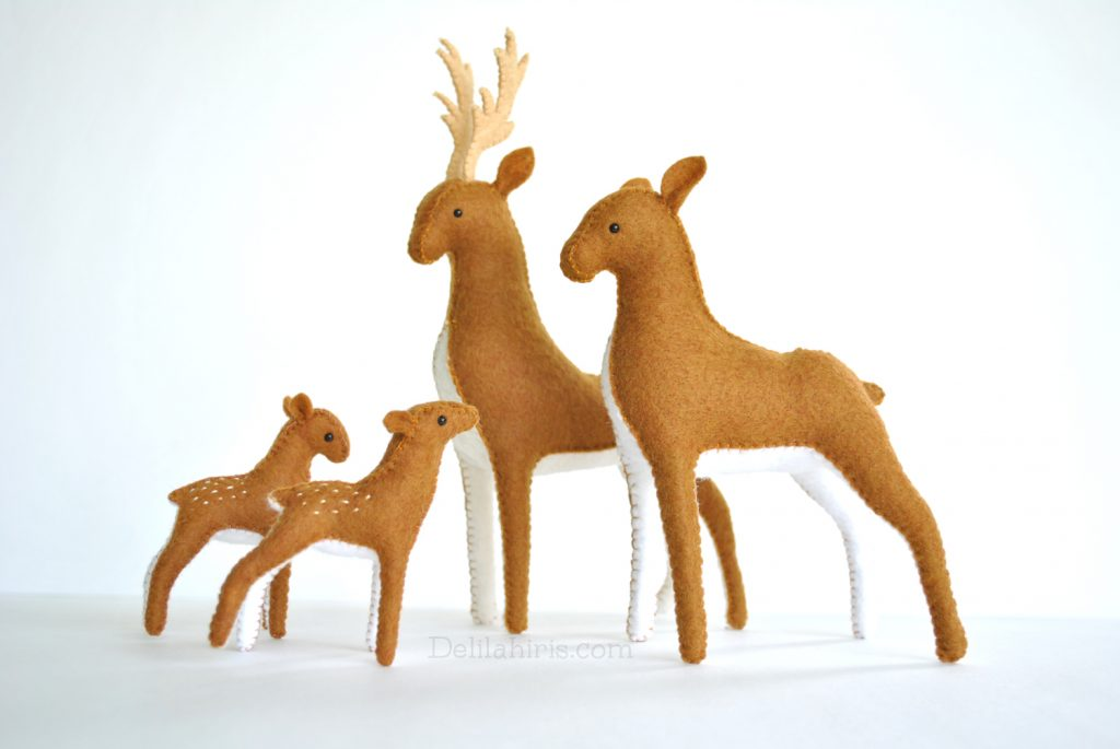 deer sewing pattern