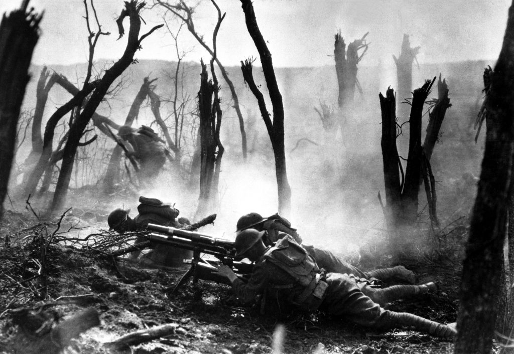 US Army, the Great War, 1920s horror