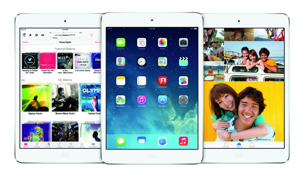 Obzor na iOS na iPad
