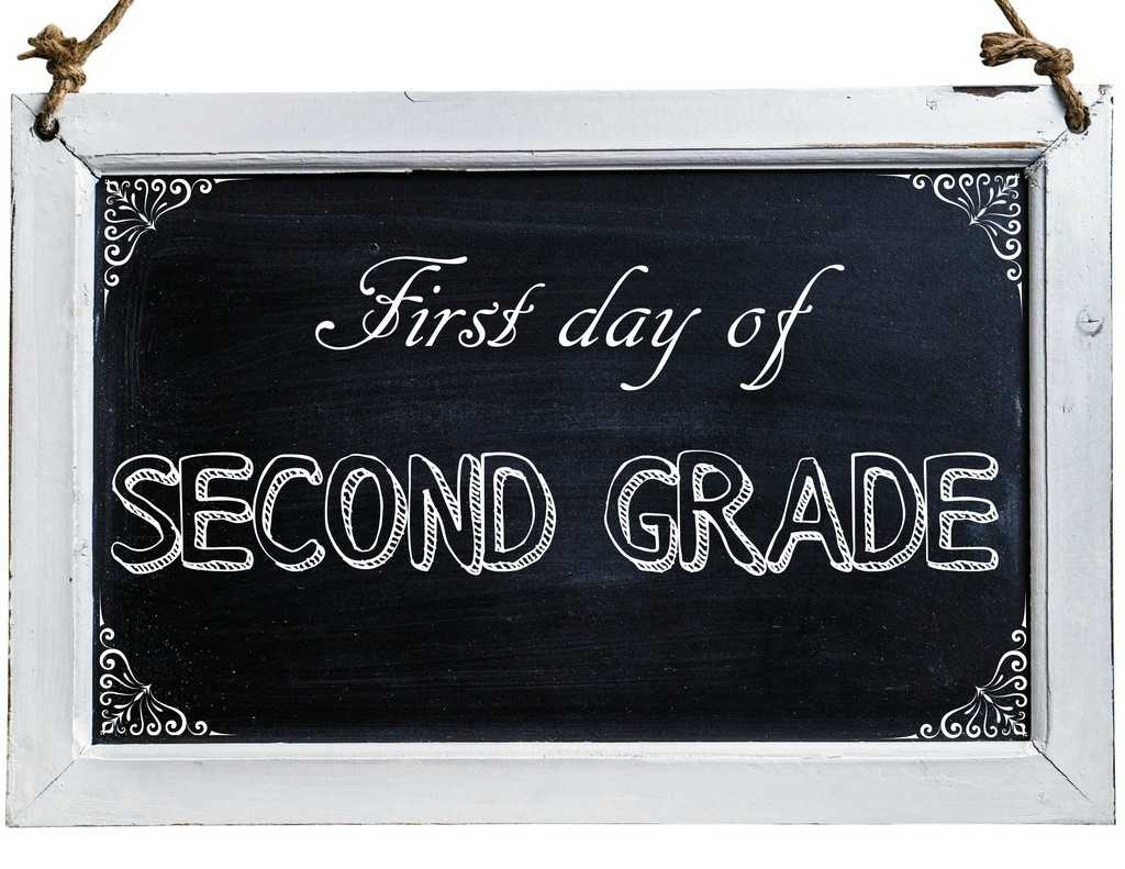 Free First Day of School Photo Printables-2nd