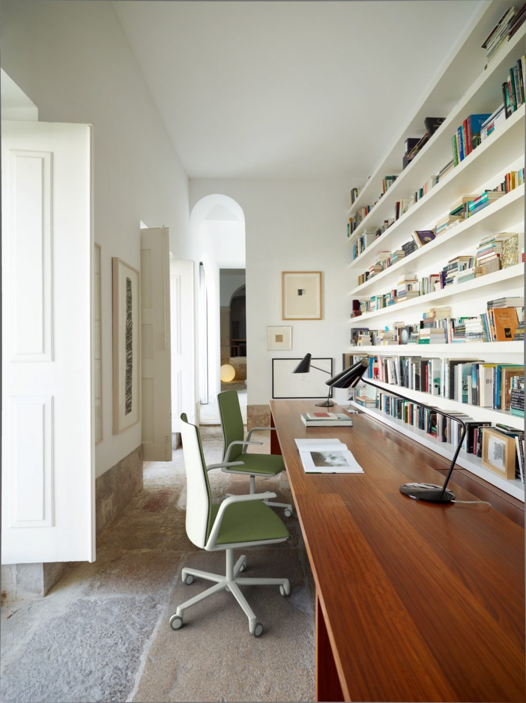 Home Office Idea: a Big Hallway