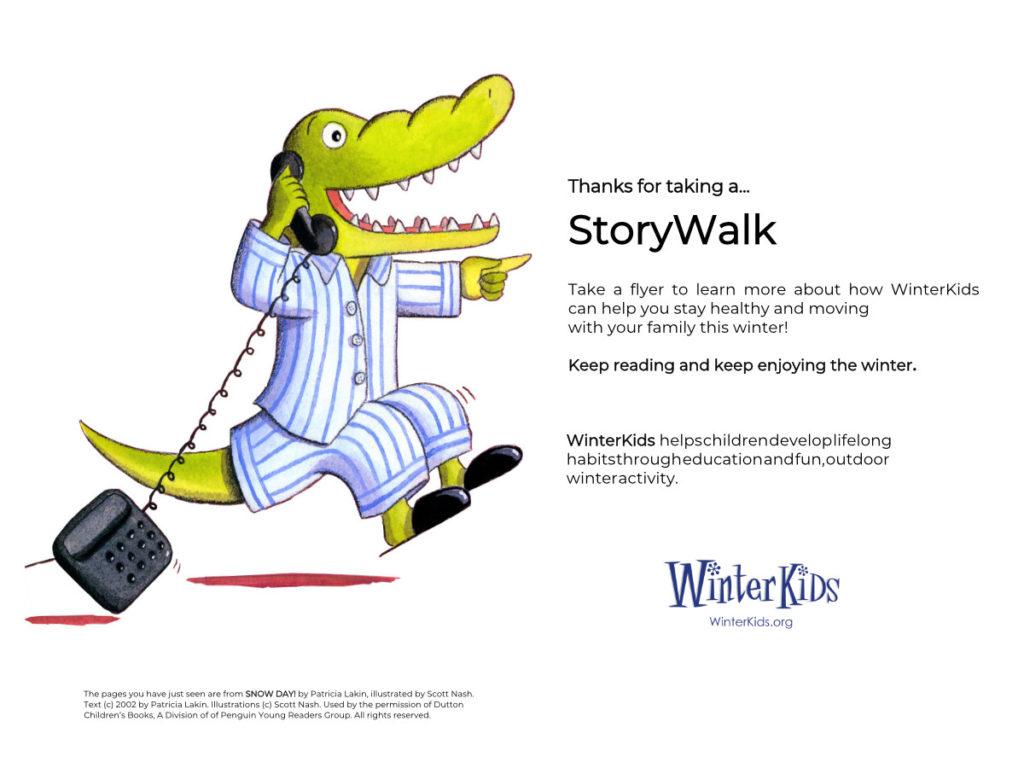 WinterKids Story Walk Page 18