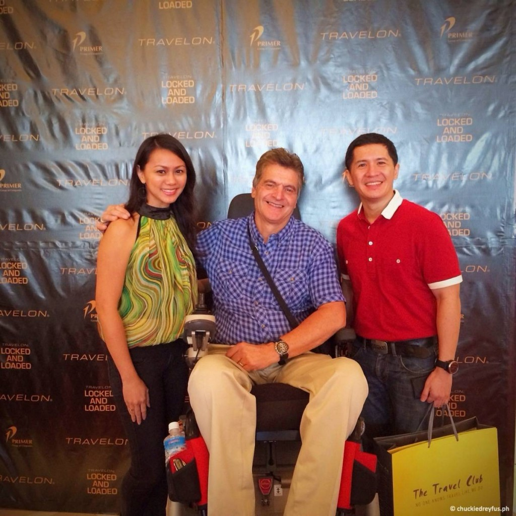 Yen and I with Travelon President and CEO, Don Godshaw