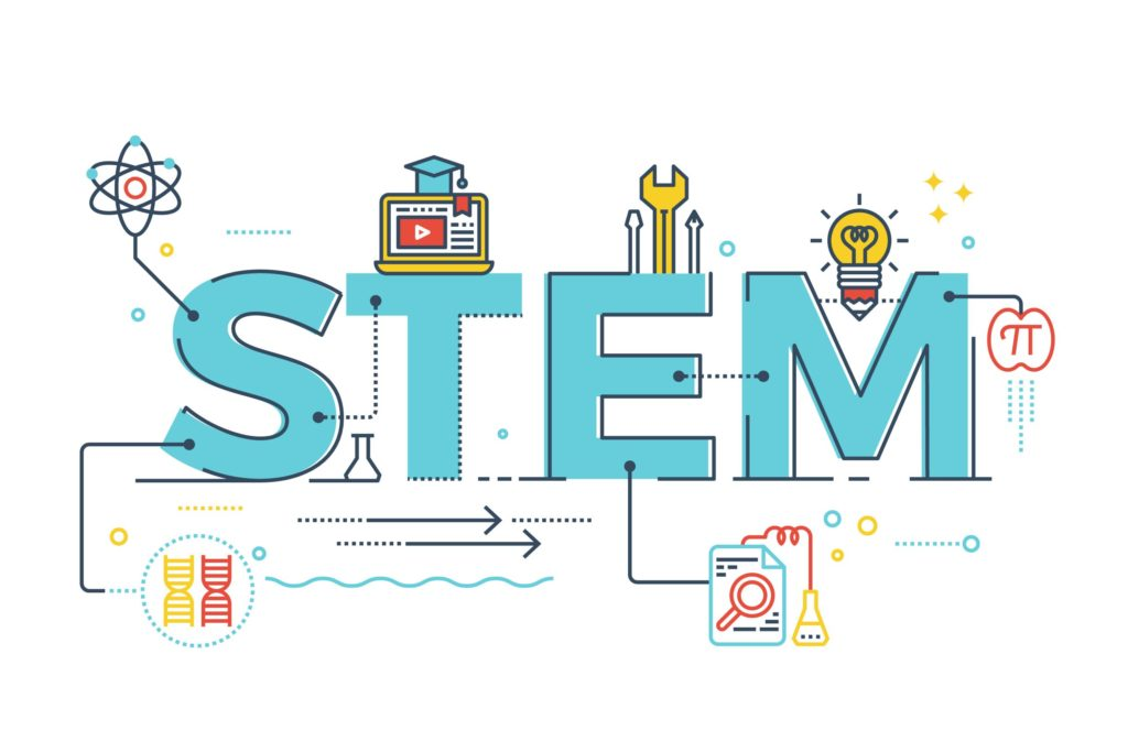 Sign that reads STEM