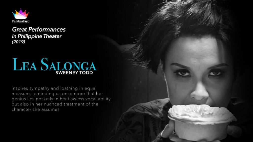 Great Performances in Philippine Theater 2019 - Lea Salonga