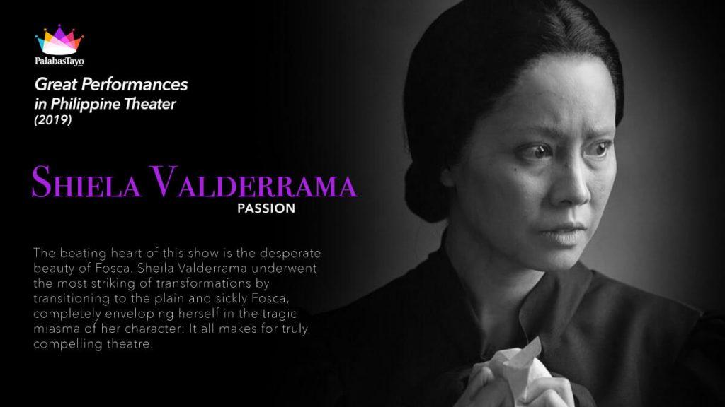 Great Performances in Philippine Theater 2019 - Shela Valderrama