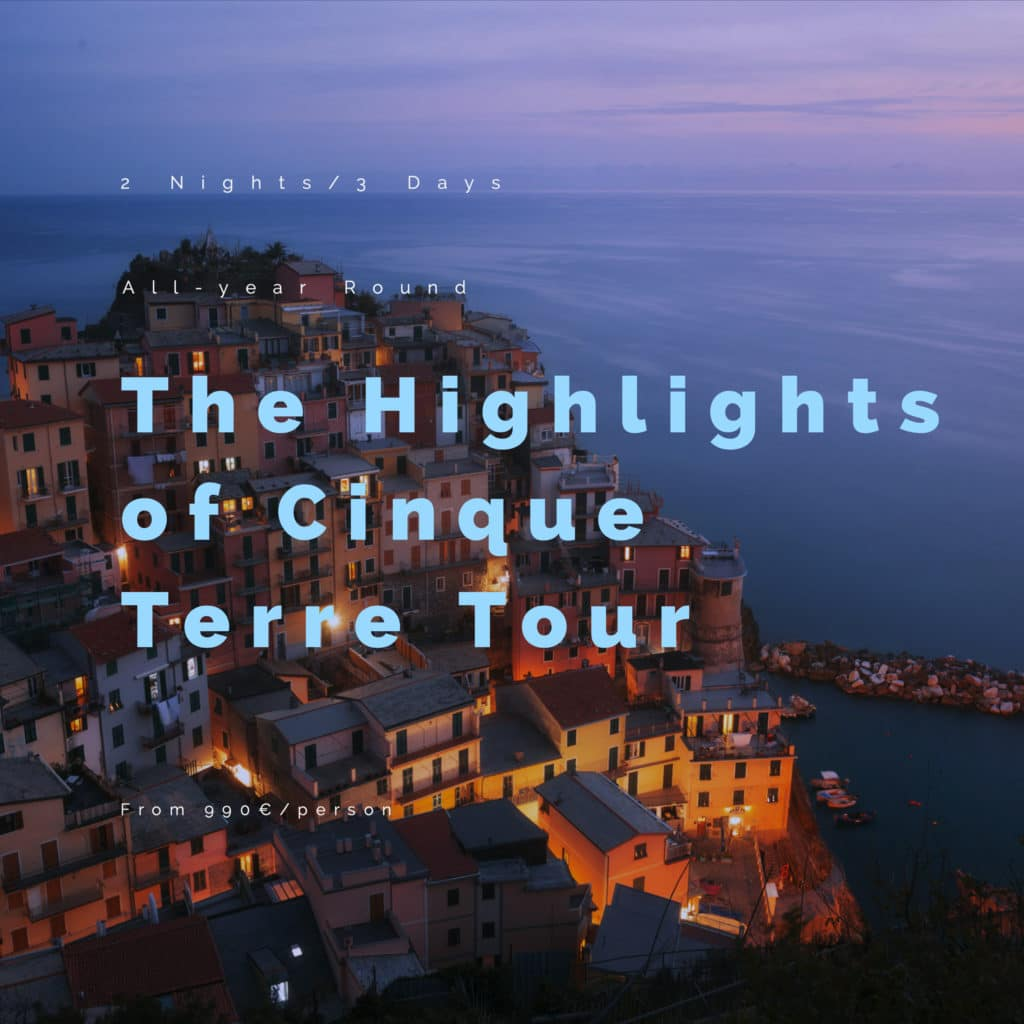 Twilight in Cinque Terre Photo tours for landscape and long exposure