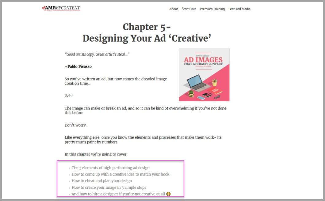 How to design your facebook ad creative