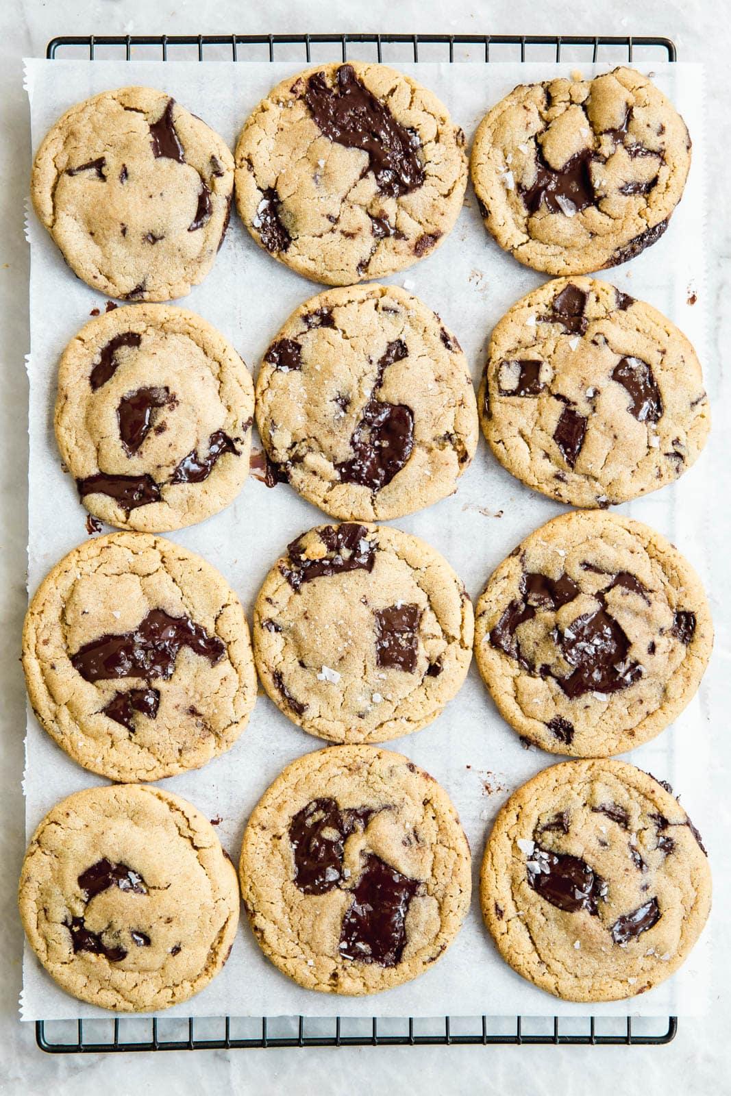 Chocolate Chip Tahini Cookies Recipe