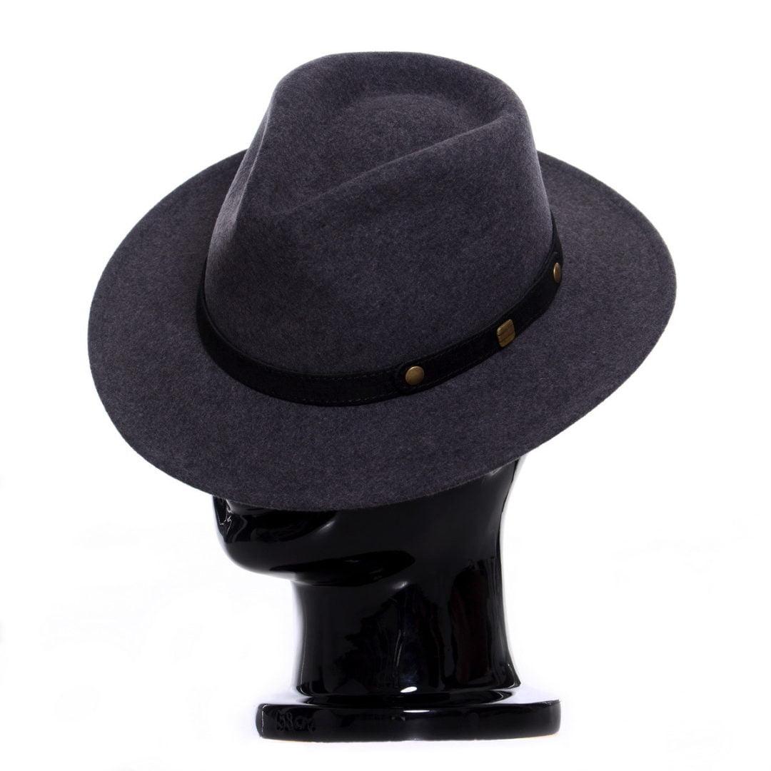 Pălărie Adami gri închis