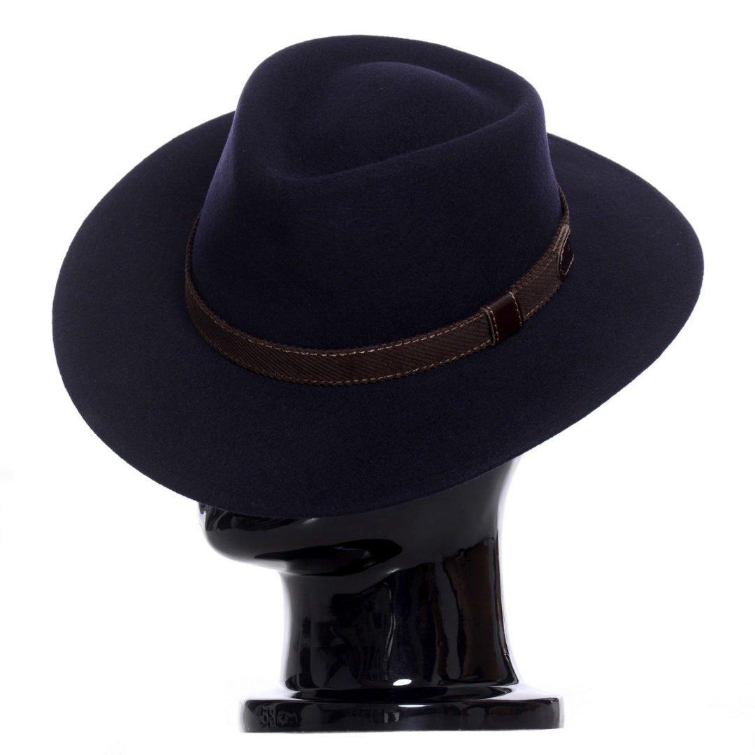 Pălărie Casablanca blu