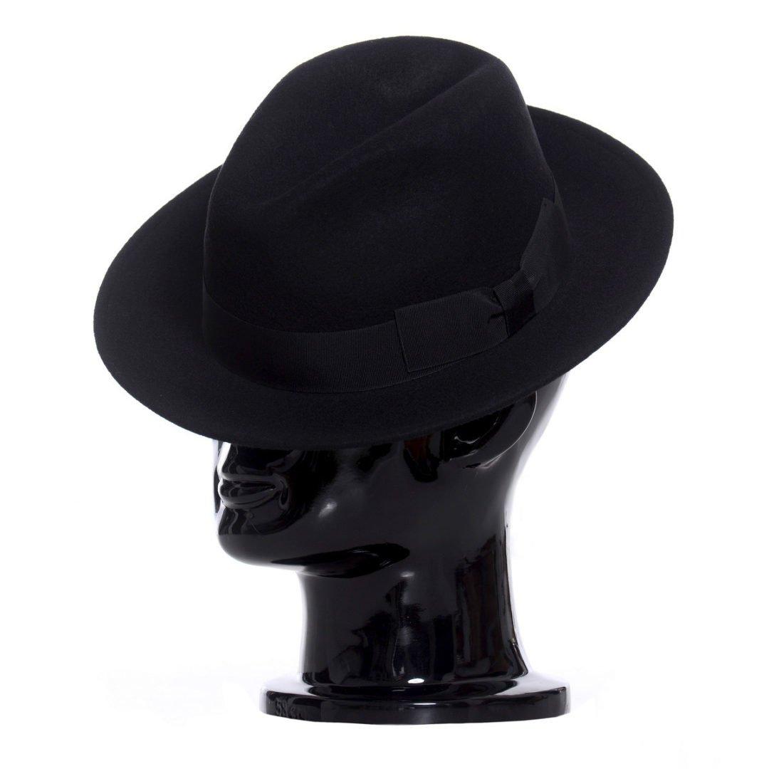 Pălărie AlCapone, negru