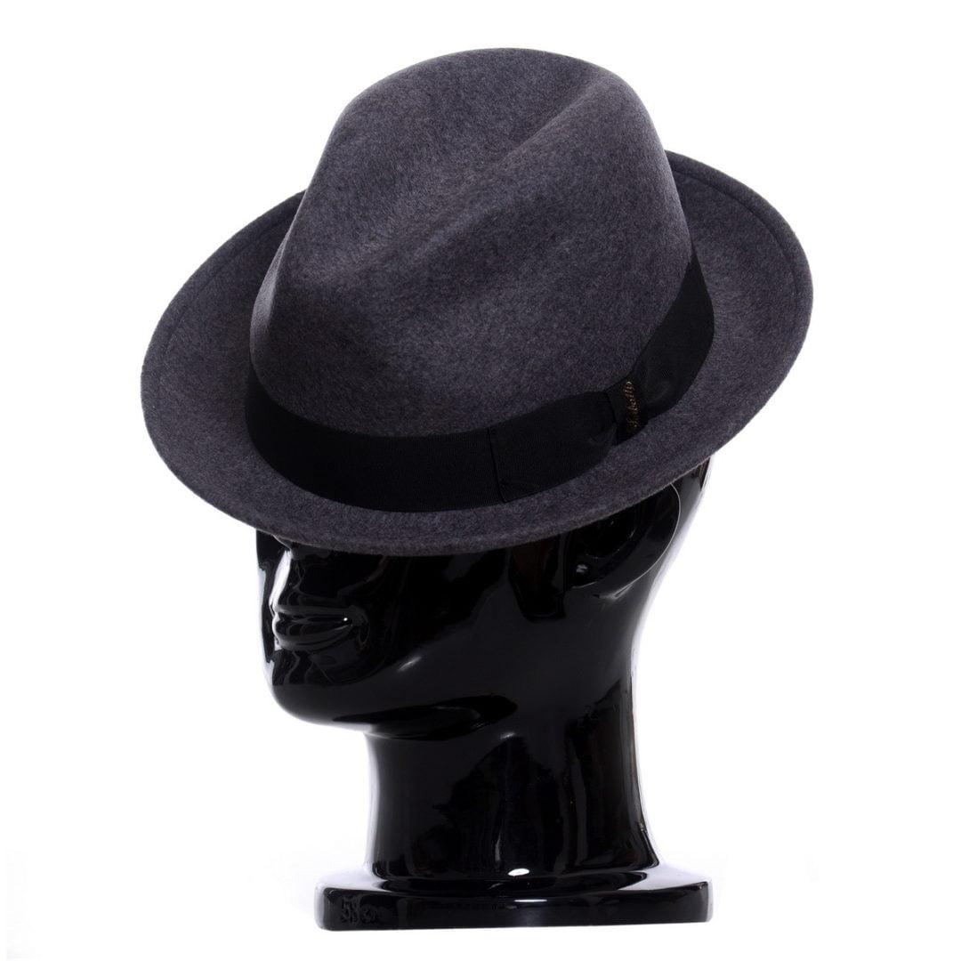 Pălărie Mike grigio
