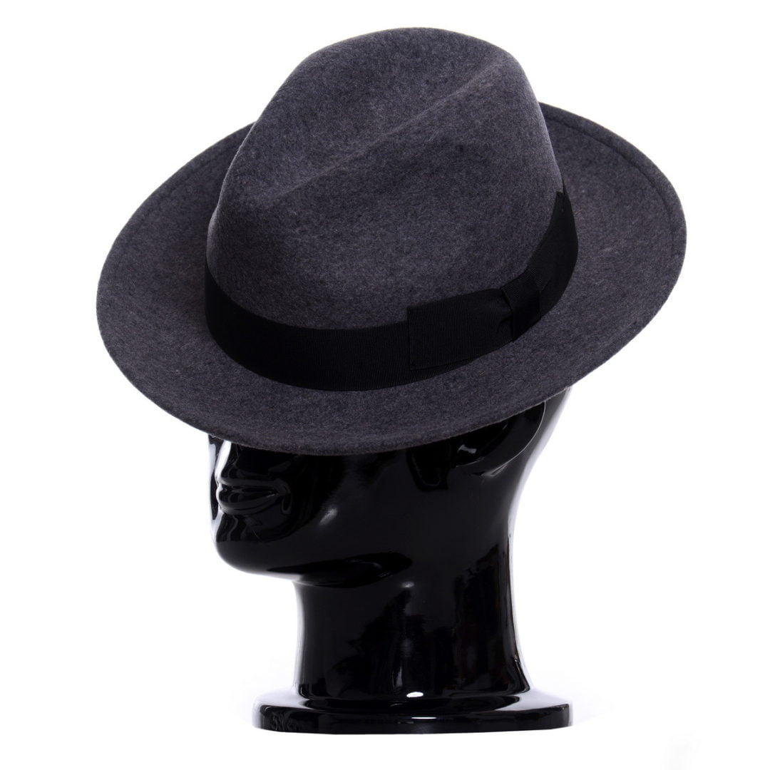Pălărie AlCapone grigio