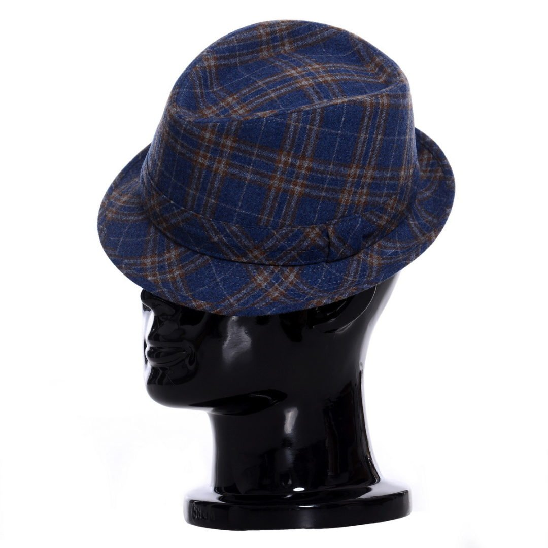 Pălărie Santy albastru fantasia