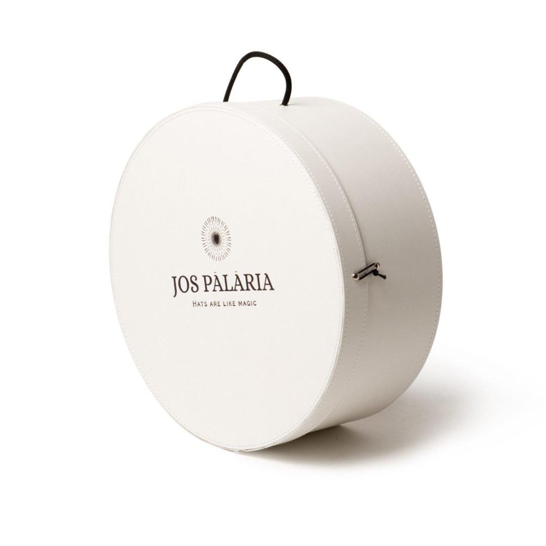 Cutie Jos Palaria alba - 40cm