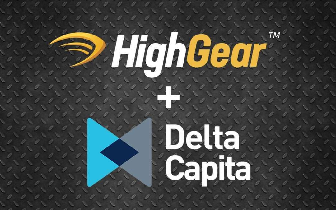 HighGear Announces Strategic Partnership with Delta Capita