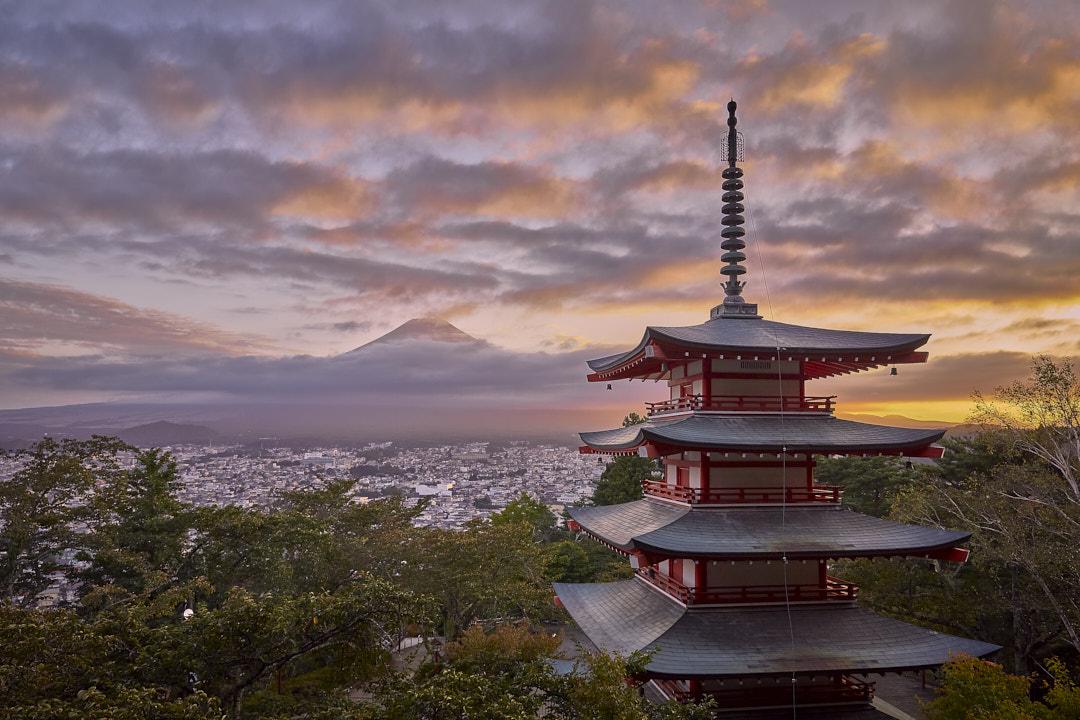 Chureito Pagoda © Armin Muratovic