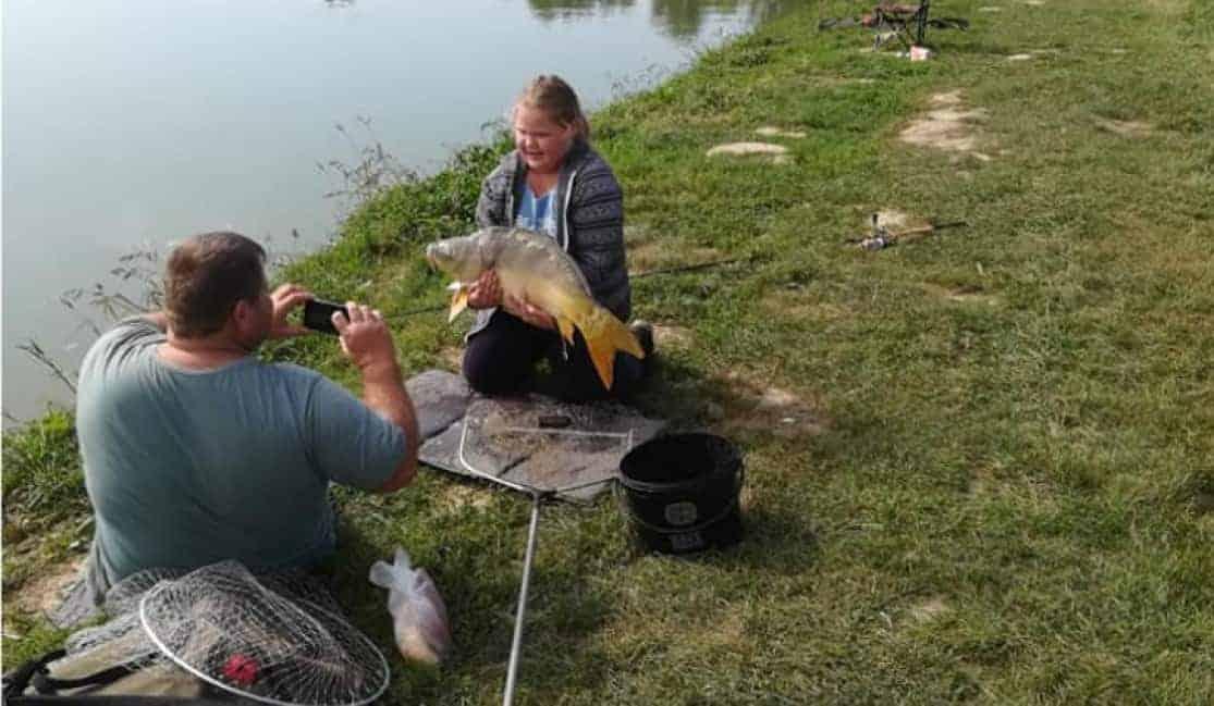 mágocsi horgásztó Bogi