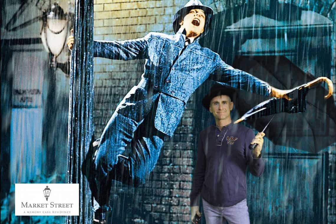 Singing In The Rain Green Screen Moment