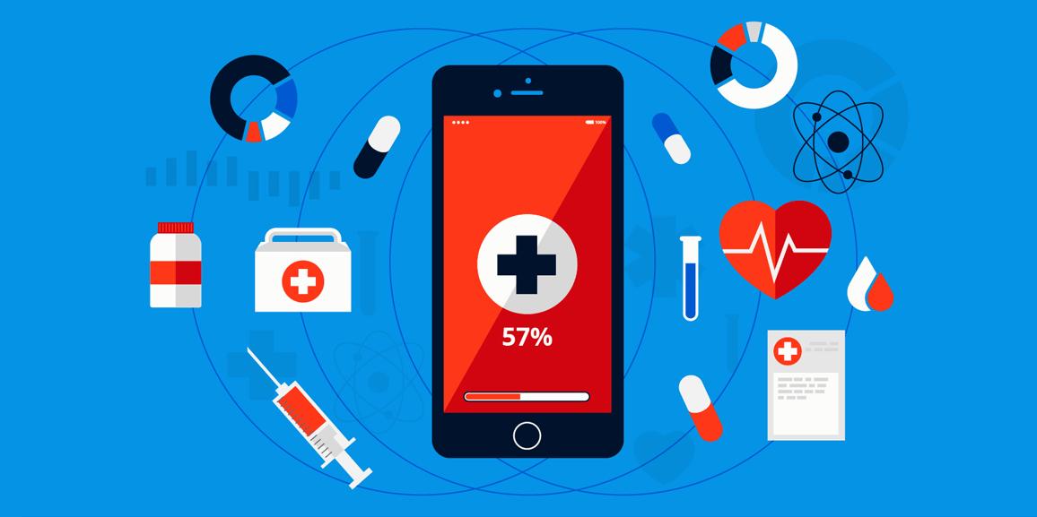 IoT in healthcare illustration 1