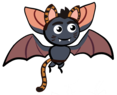 Illustration of a bat costumed in leopard after the AnonymousBat data leak.