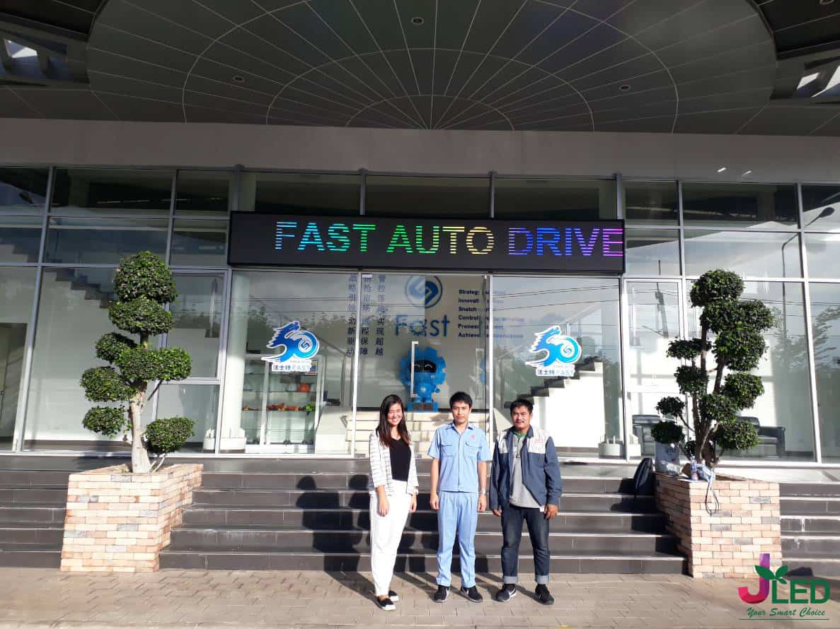 p6 จอled display outdoor shop fast auto drive