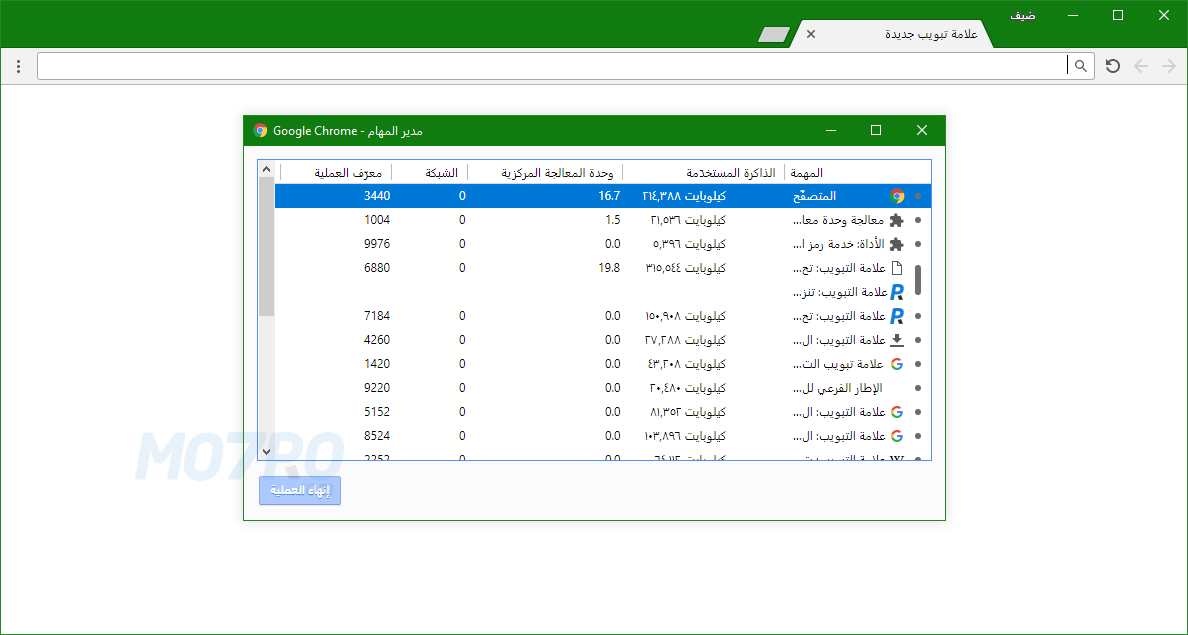 متصفح Google Chrome الجديد