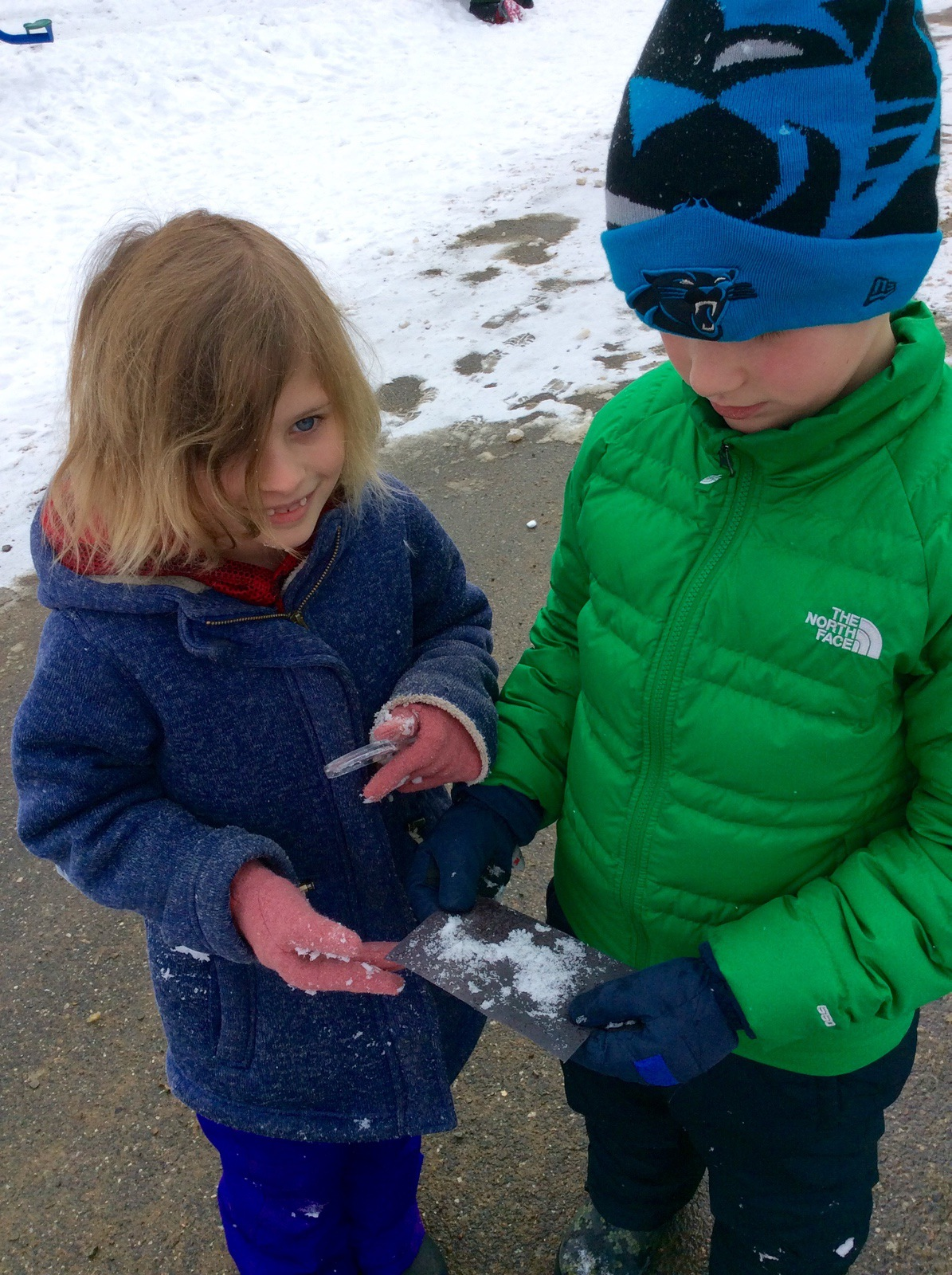 Studying Snow Crystals WinterKids Teachers Sharing Series1