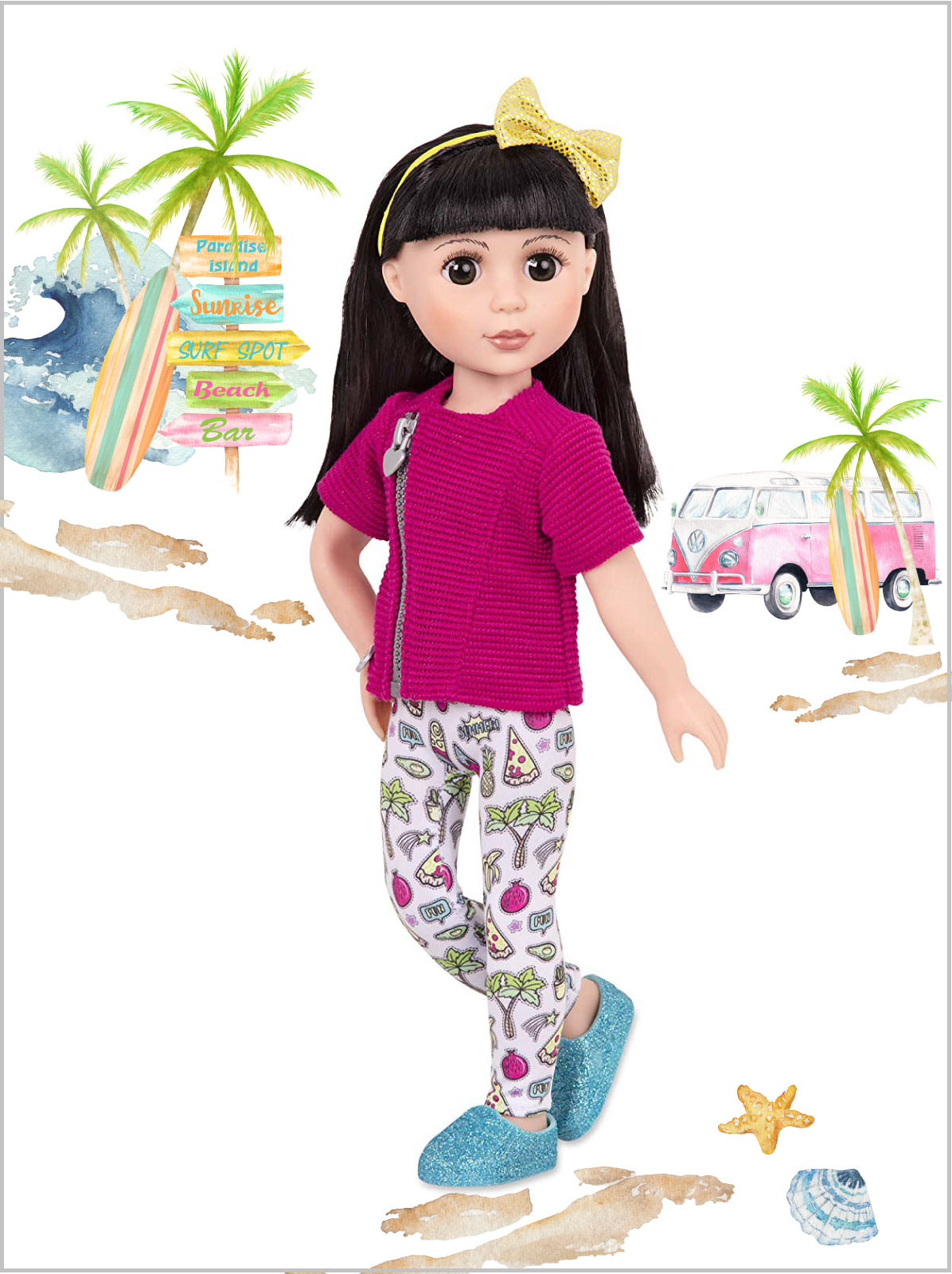 frederickandsophie-glittergirls-kani-doll