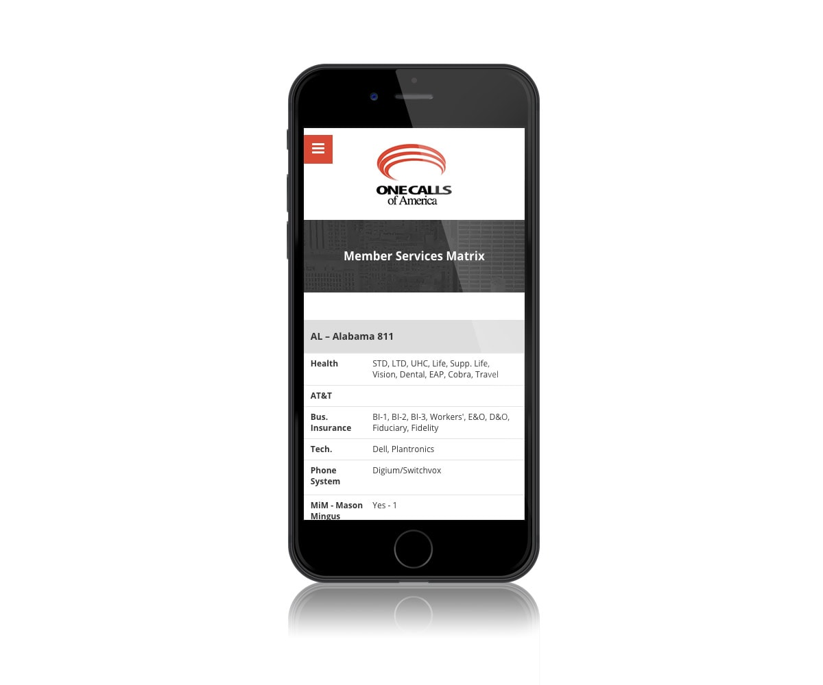 ocoa mobile site