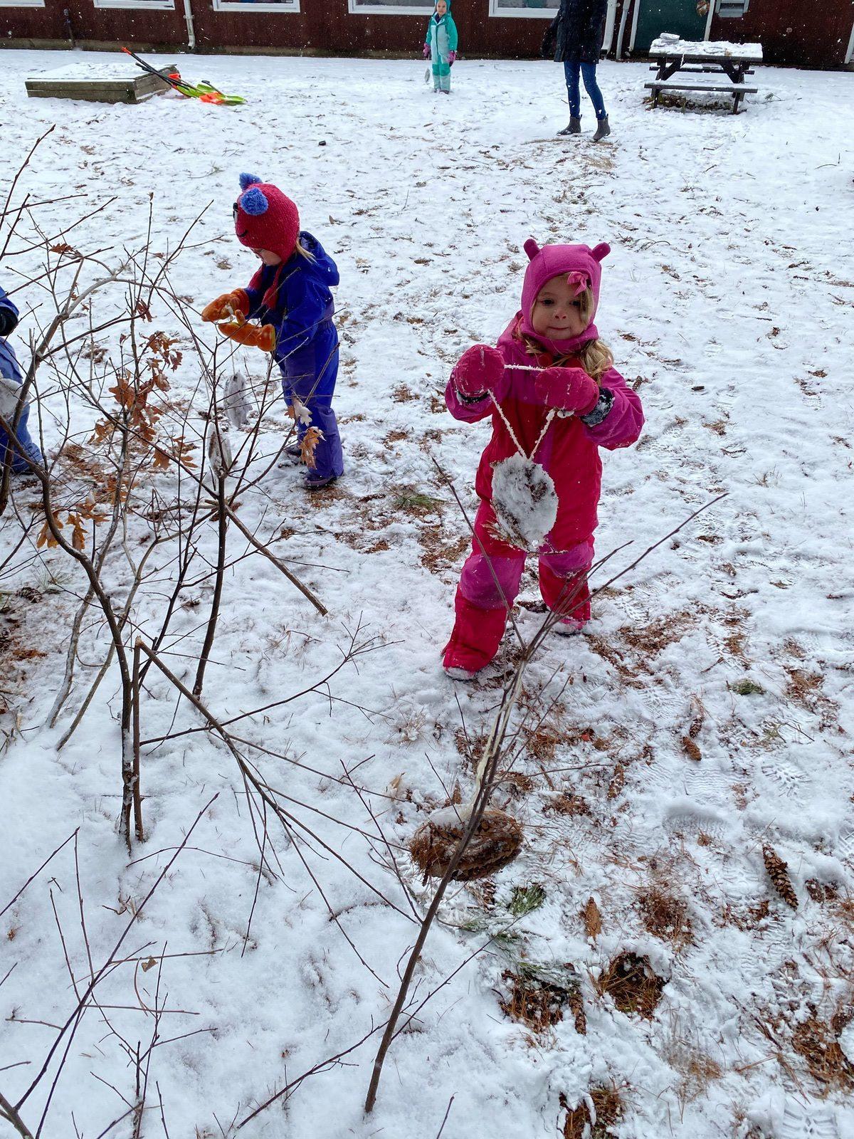 PreK Art Play Nursery School Week 3 Winter Games 2021 Moment of the Week